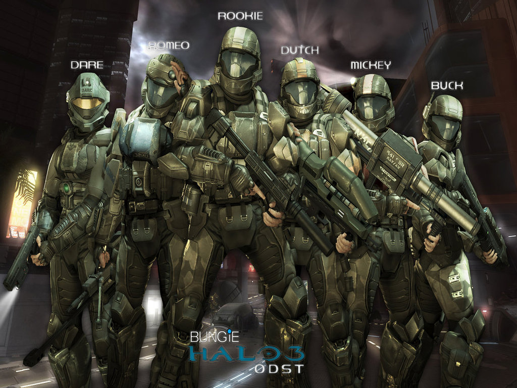 Halo Odst Wallpaper 4468 Hd Wallpapers in Games Imagesci 1024x768