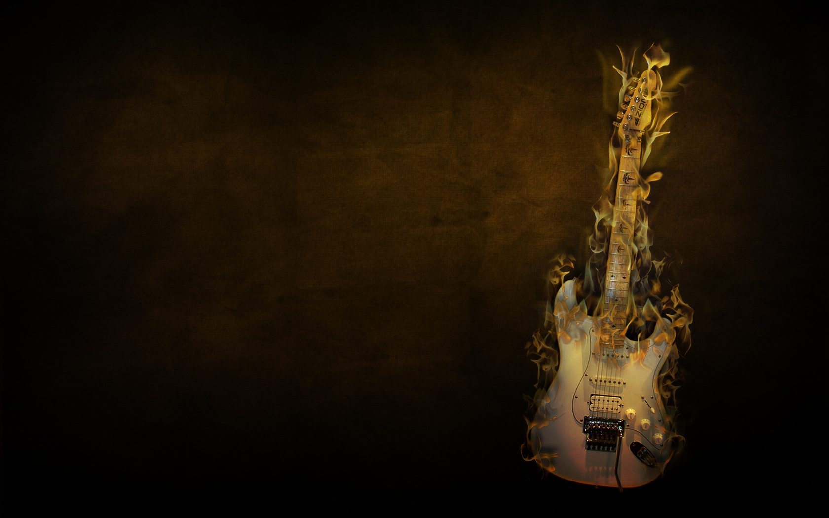 42 Flaming Guitar Wallpaper On Wallpapersafari
