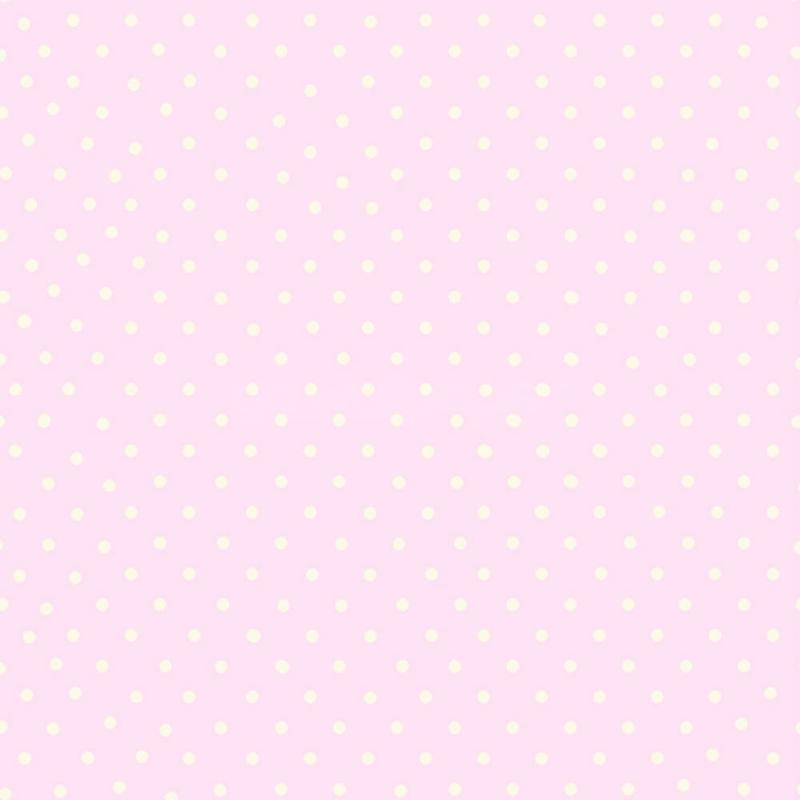 Cutie Polka Dots Pink Girls Wallpaper GoWallpaper 800x800