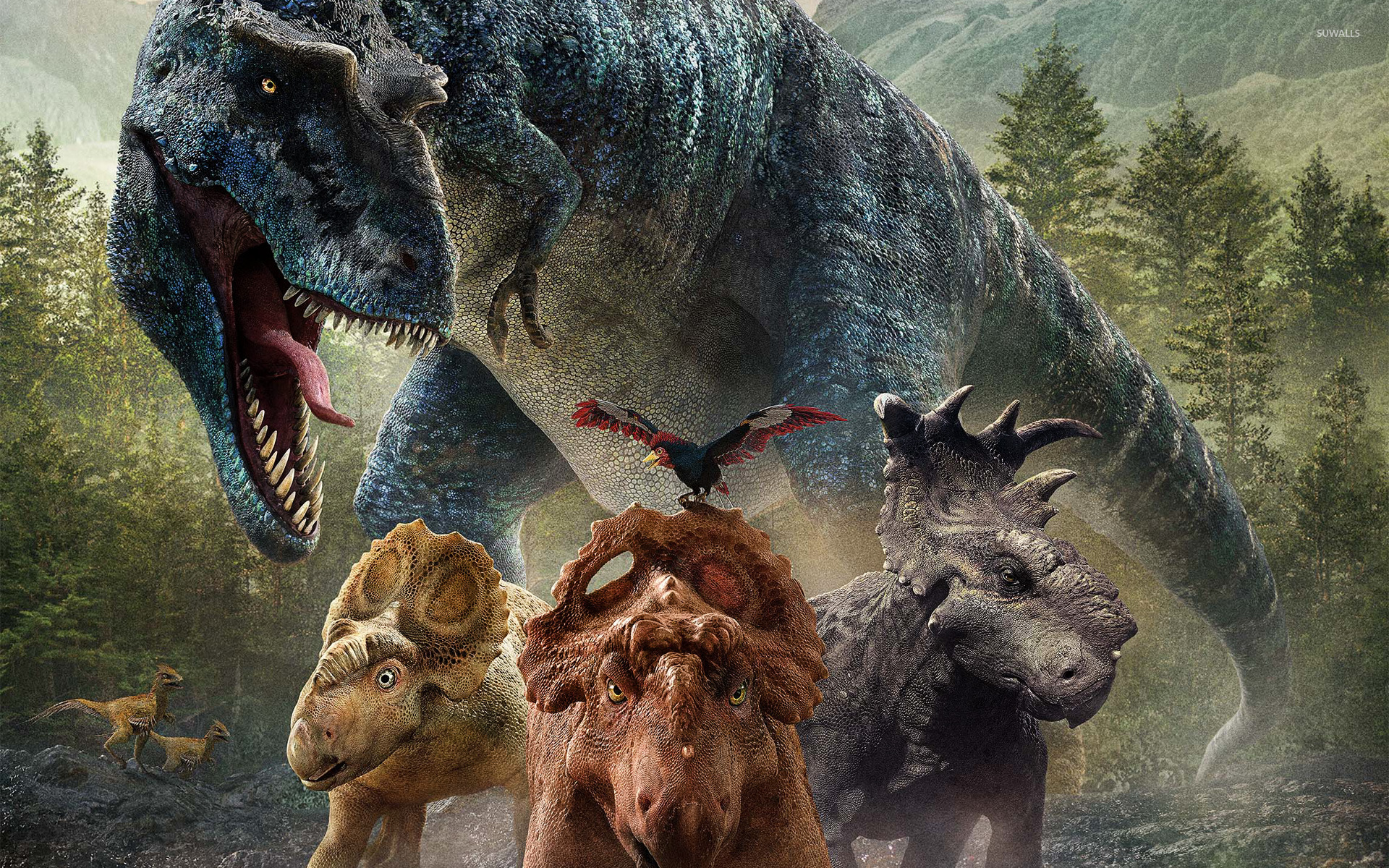 Walking with Dinosaurs 3D wallpaper   Movie wallpapers   25005 1280x800
