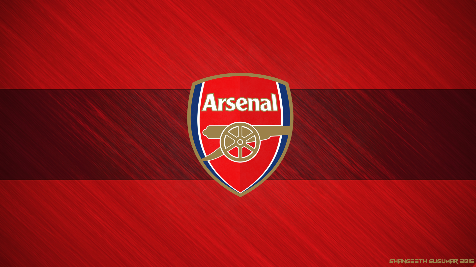 Arsenal FC 2015 Wallpaper   By Shangeeth Sugumar by 1920x1080