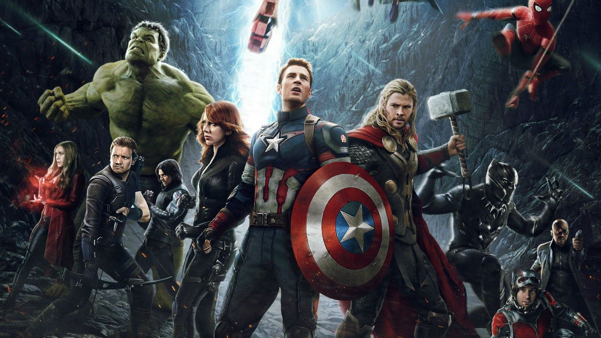 Wallpaper Avengers Infinity War Characters Best HD Wallpapers 1920x1080