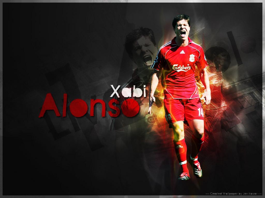 Xabi Alonso Football Wallpaper 1024x768