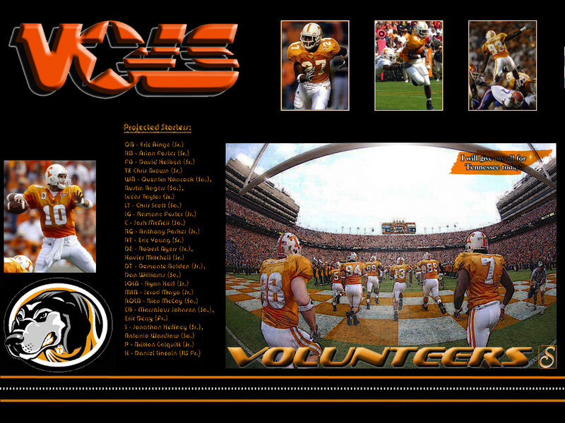 thoughts on Tennessee Volunteers Wallpapers 800x600