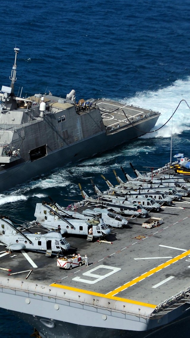 USS Freedom Wallpaper Military USS Freedom LCS 1 lead ship 640x1138