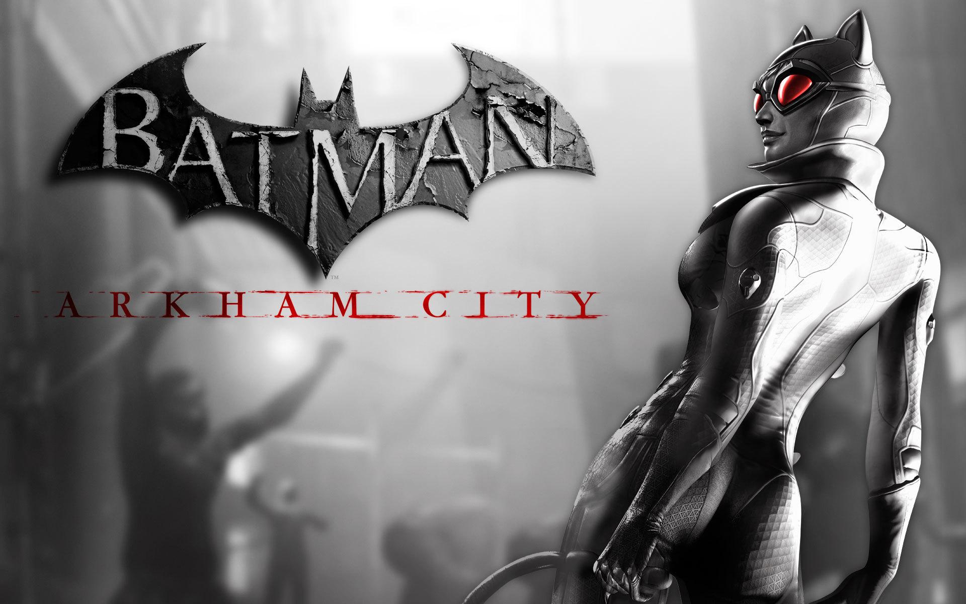Batman Arkham City Wallpaper Arlequina: Batman Arkham City Catwoman Wallpaper