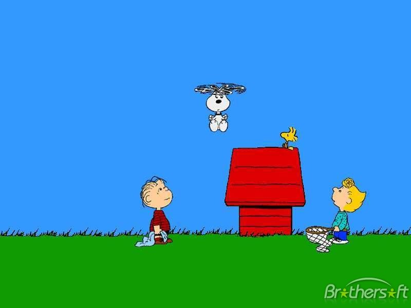 Wallpapers snoopy impremedia snoopy spring wallpaper free snoopy wallpaper voltagebd Image collections