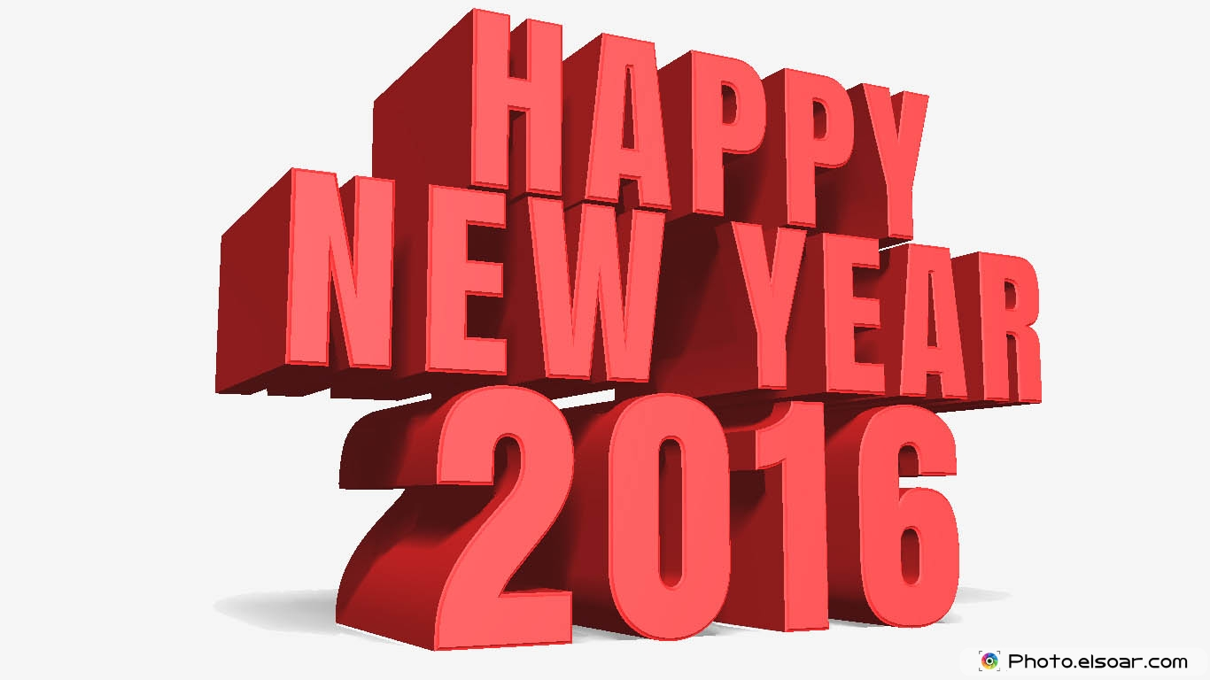Happy New Year 2016 Unique Images Wallpapers Cards 1366x768