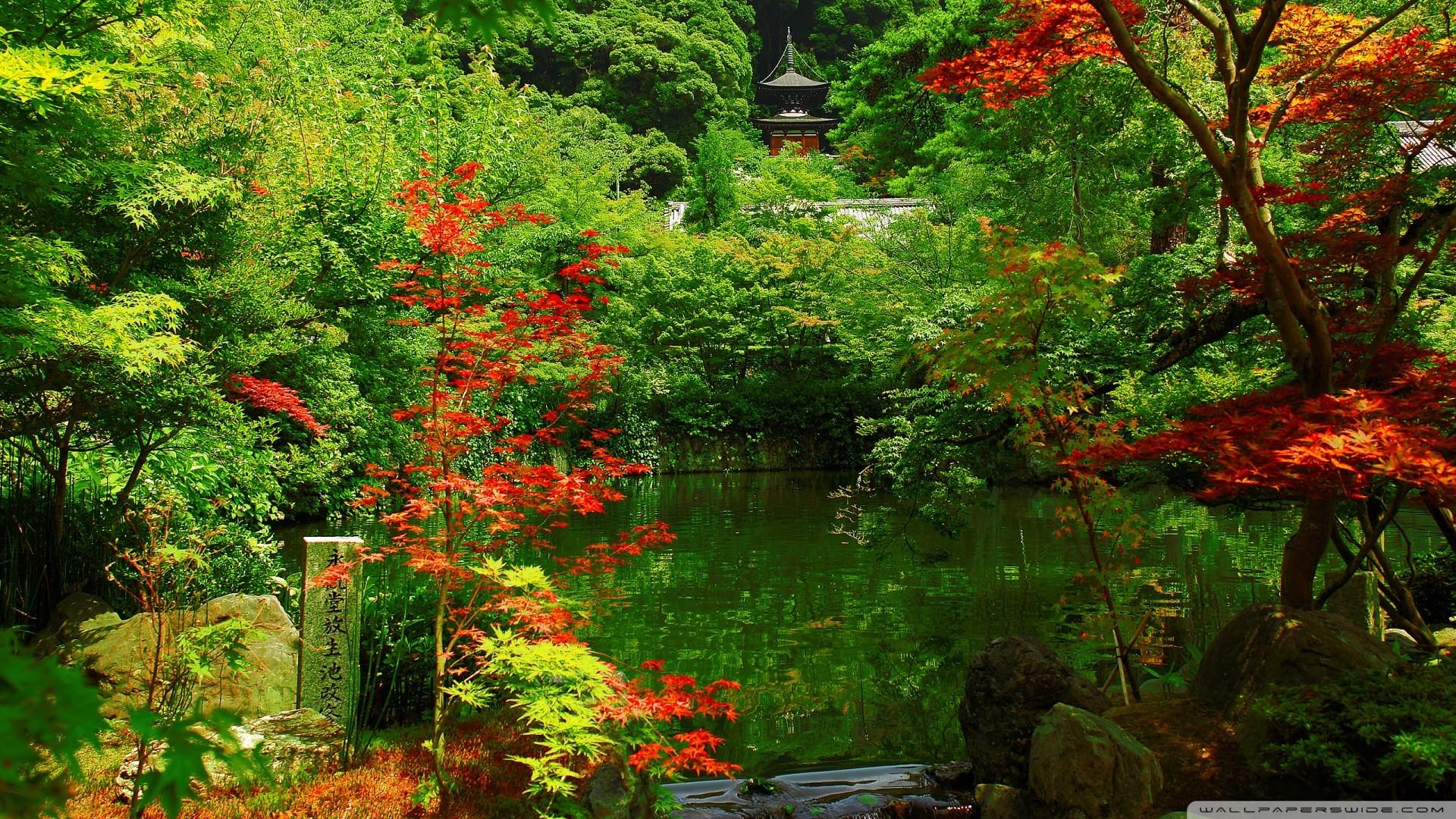 Japanese Garden Wallpaper Hd Japan garden w 1920x1080