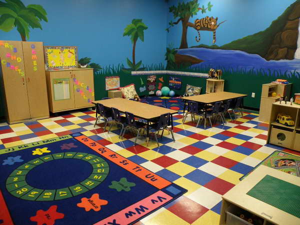 Kids Playroom Create Cool Kids Playroom Ideas With Wallpapers 600x450