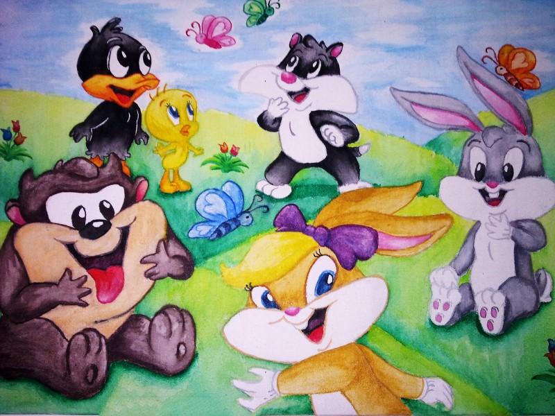 Wallpaper Baby Looney Tunes Wallpaper Hd   Fondos de pantalla HD 800x600