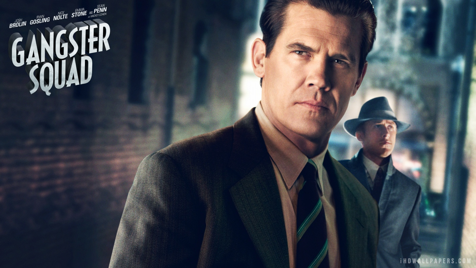 Josh Brolin in Gangster Squad HD Wallpaper   iHD Wallpapers 1600x900