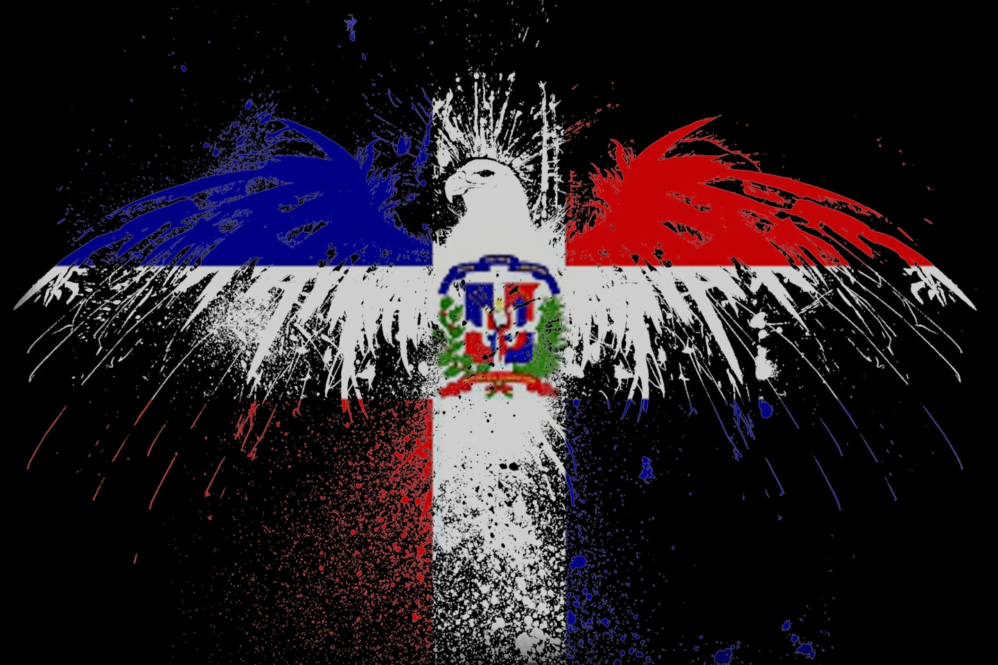 Dominican flag wallpaper wallpapersafari - Dominican republic wallpaper ...