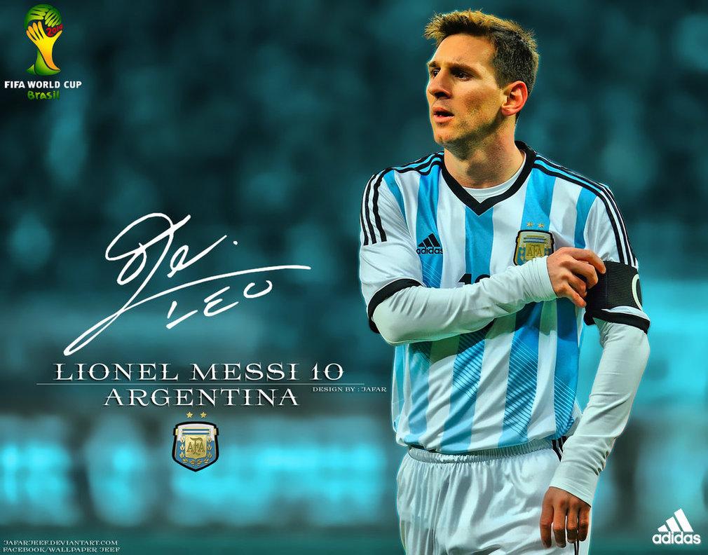 Lionel Messi Argentina World Cup 2014 1010x792