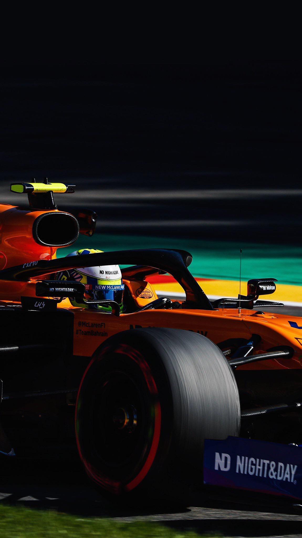 2019 Belgian Grand Prix   Lando Norris McLaren Mobile Wallpaper 1150x2048