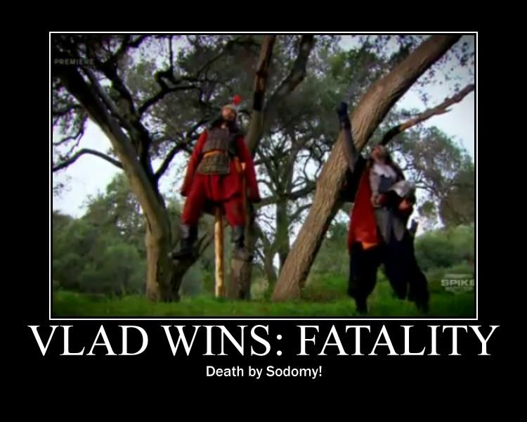 Deadliest Warrior   Fatality by Luigi Mario 750x600