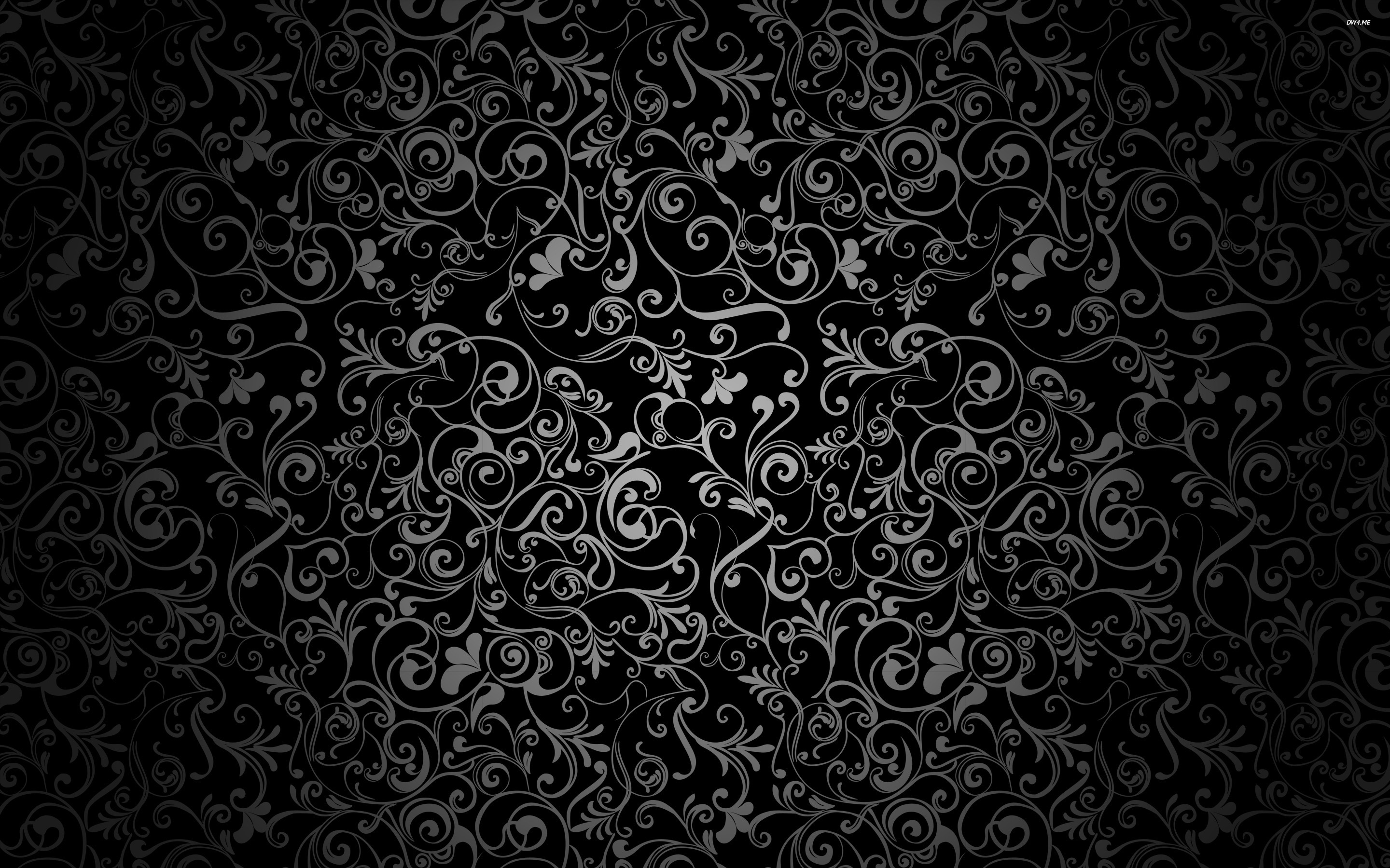 Floral pattern wallpaper   Vector wallpapers   1923 2880x1800