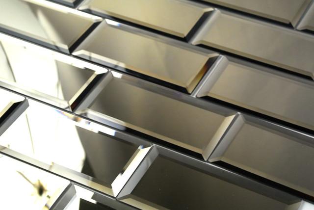 x6 Gold Peel and Stick Mirror Glass Subway Tile Kitchen Bathroom 640x428