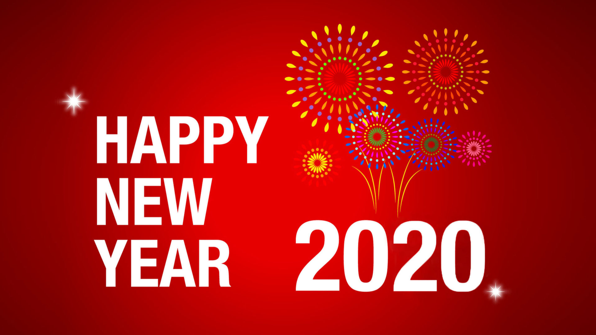 Happy New 2020 Year New Years Celebration New Years Greeting 1920x1080