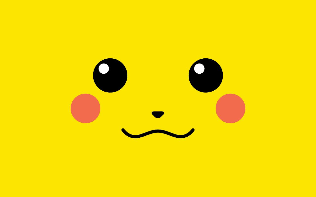 Desktop Wallpaper Pikachu Face Pokemon HD Wallpaper 1280x800