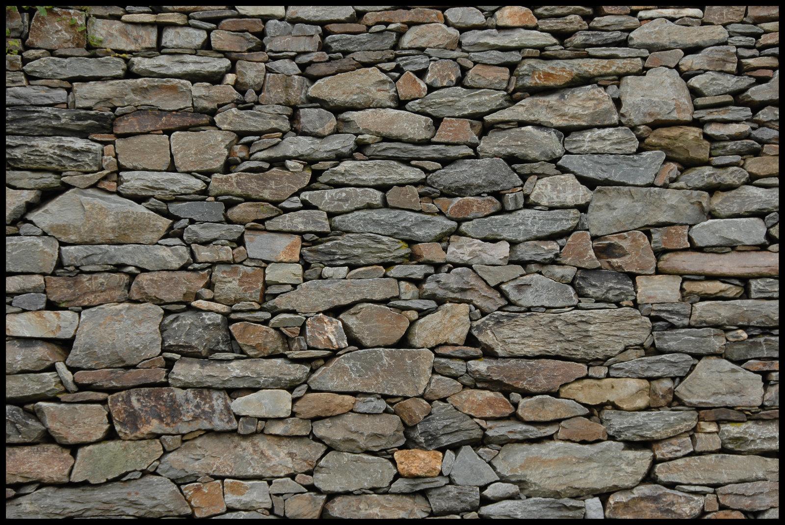 Wallpaper stone wall wallpapersafari for Wallpapered walls