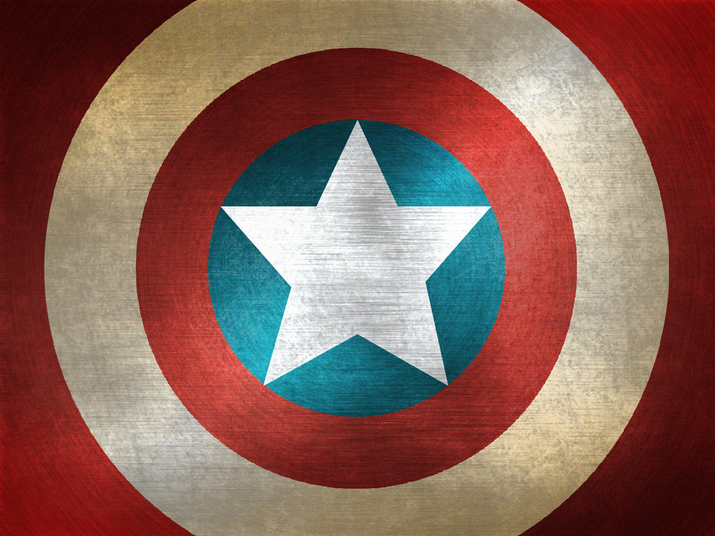 Captain America s Shield Wallpaper by dante231 1024x768