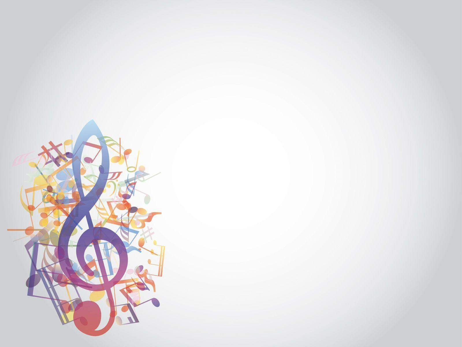Music Notes Backgrounds 1600x1200