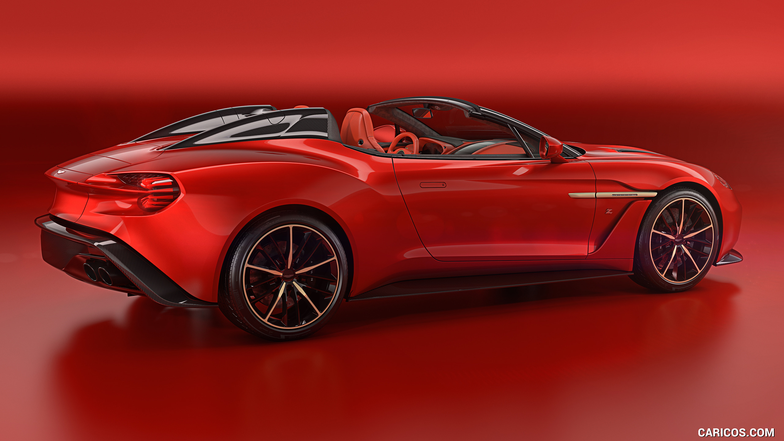 2018 Aston Martin Vanquish Zagato Speedster   Rear Three Quarter 2560x1440