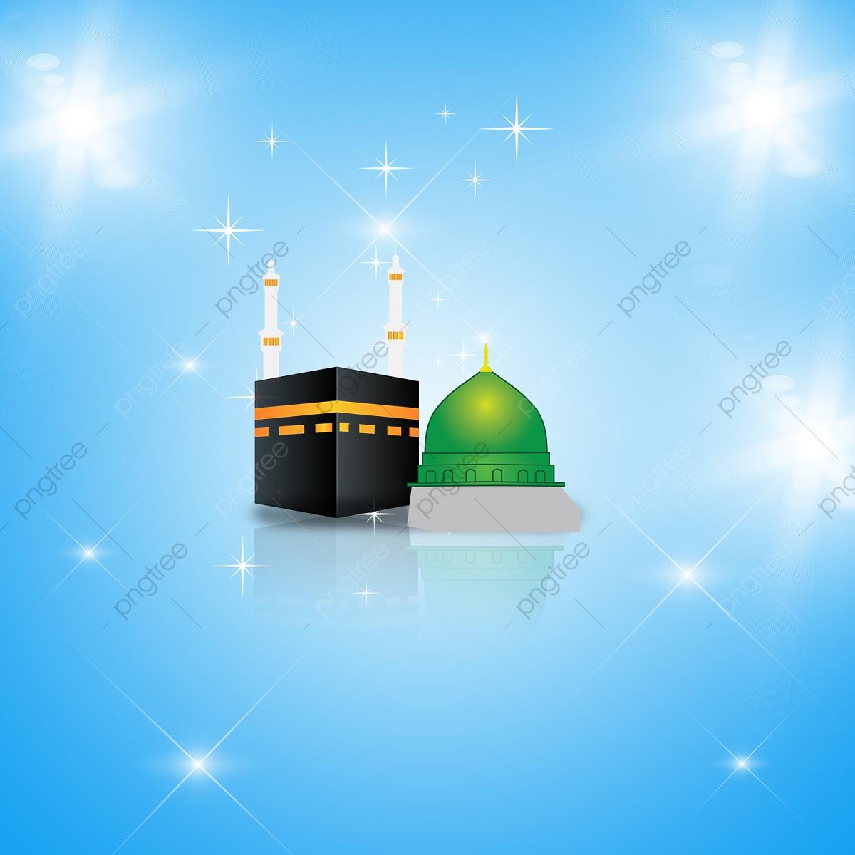 Islamic Background Design Madinah And Makkah With Beautiful Psd 1200x1200