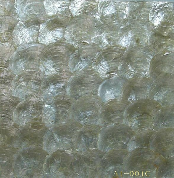 Professional wholesale handmade shell wallpaperwall tiles   a 001   M 588x600