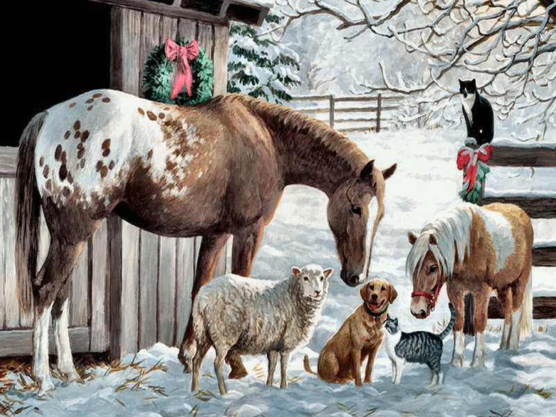 Desktop christmas horse wallpapers collection 12 wallpapers western christmas background wallpaper wallpapersafari voltagebd Image collections