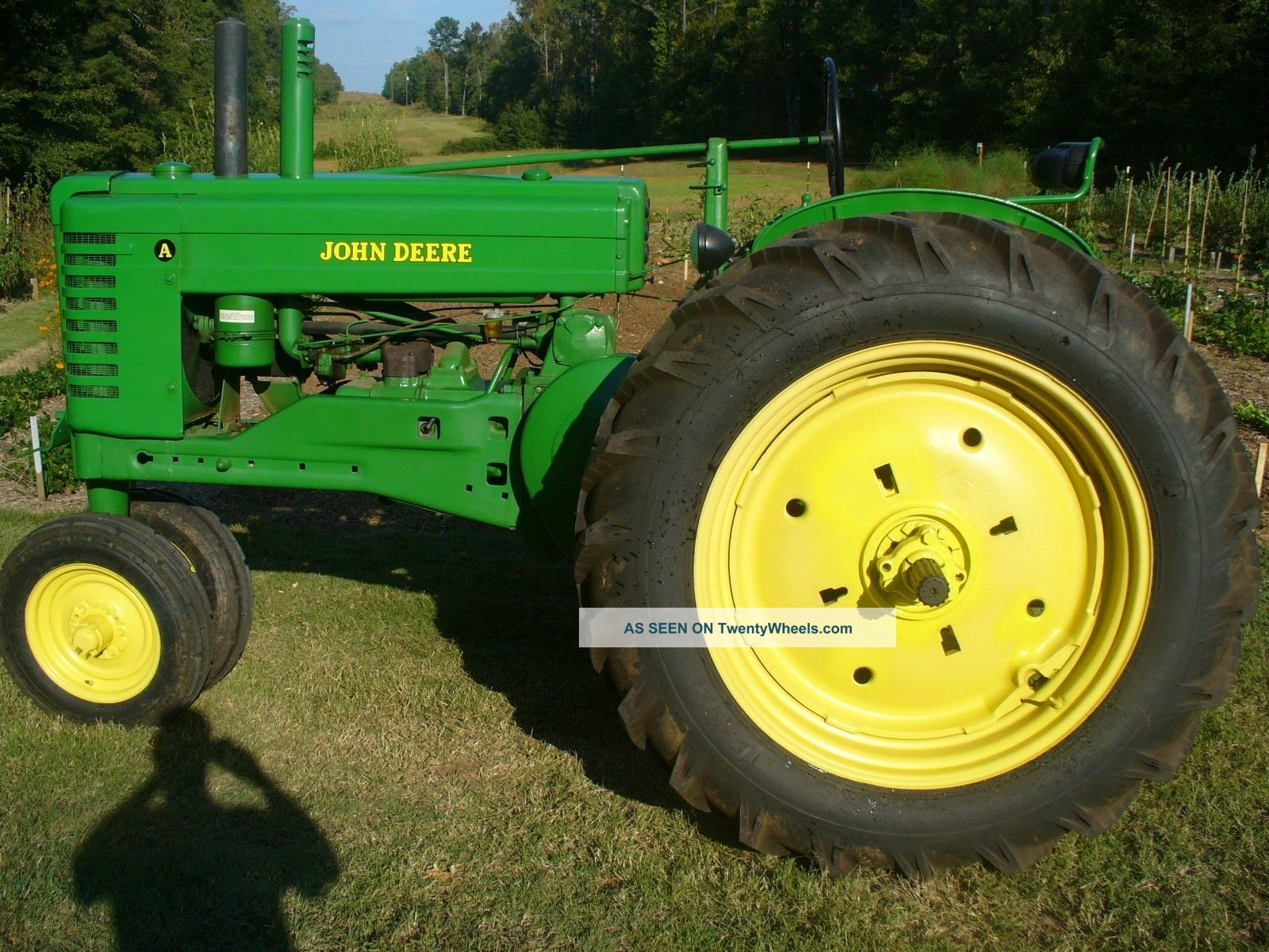 Antique John Deere A Tractor Antique Vintage Farm Equip photo 2 1600x1200