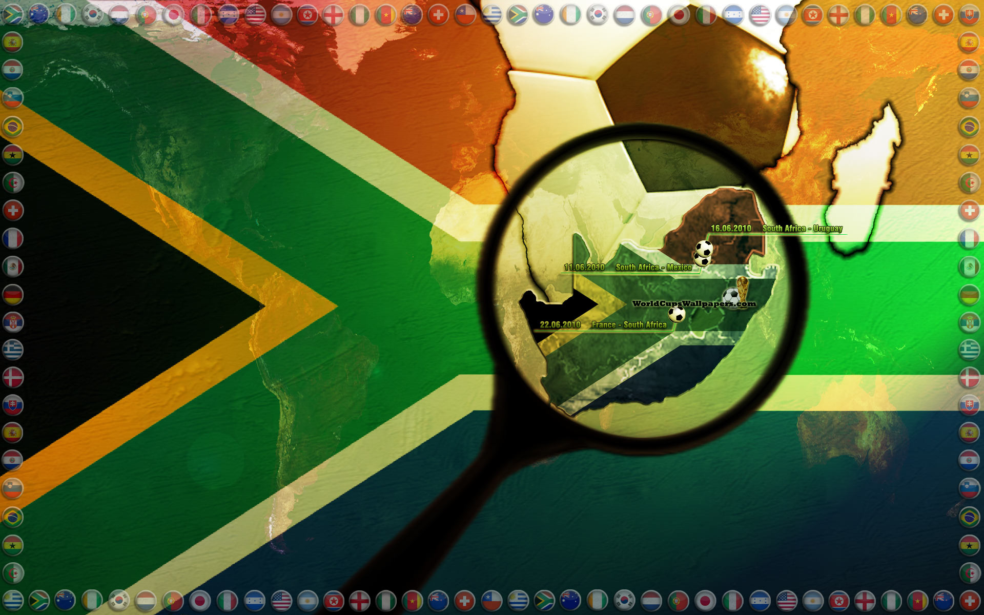 south africa World Cup wallpaper Football Pictures and Photos 1920x1200