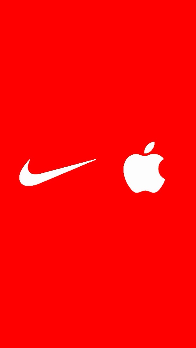 Nike Iphone 5 Wallpaper Nike apple wallpaper 640x1136