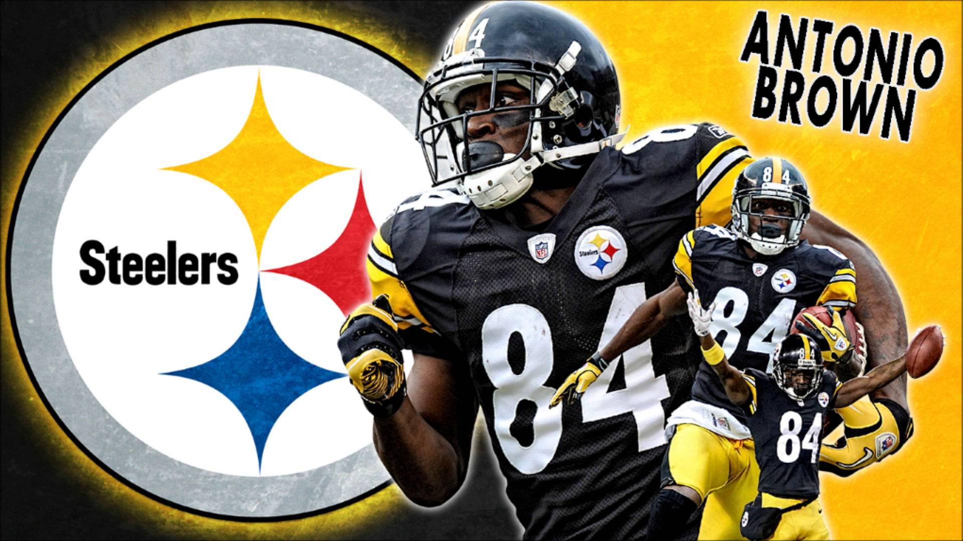 FREE NFL Antonio Brown Wallpaper 1920x1080