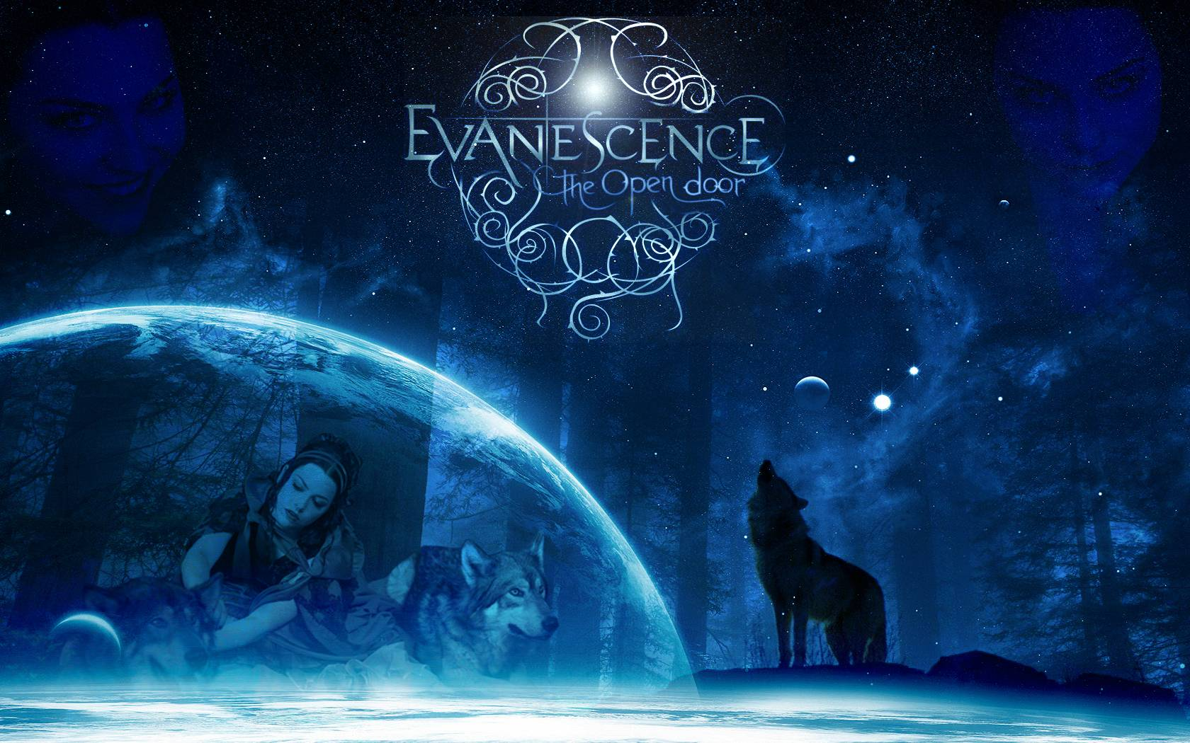 Evanescence Logo Wallpapers 1680x1050