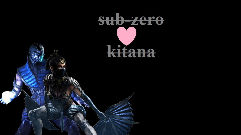 Sub zero X Kitana mkx wallpaper by pandudragon234 1024x576