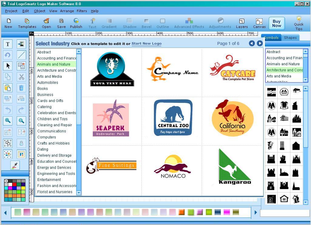Программа для создания логотип сайта компания акимов официальный сайт