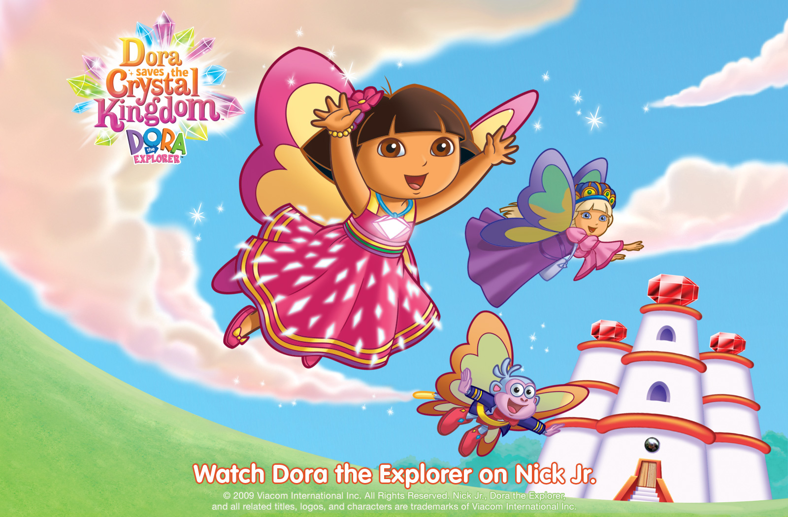 Dora The Explorer Wallpaper 1600x1050