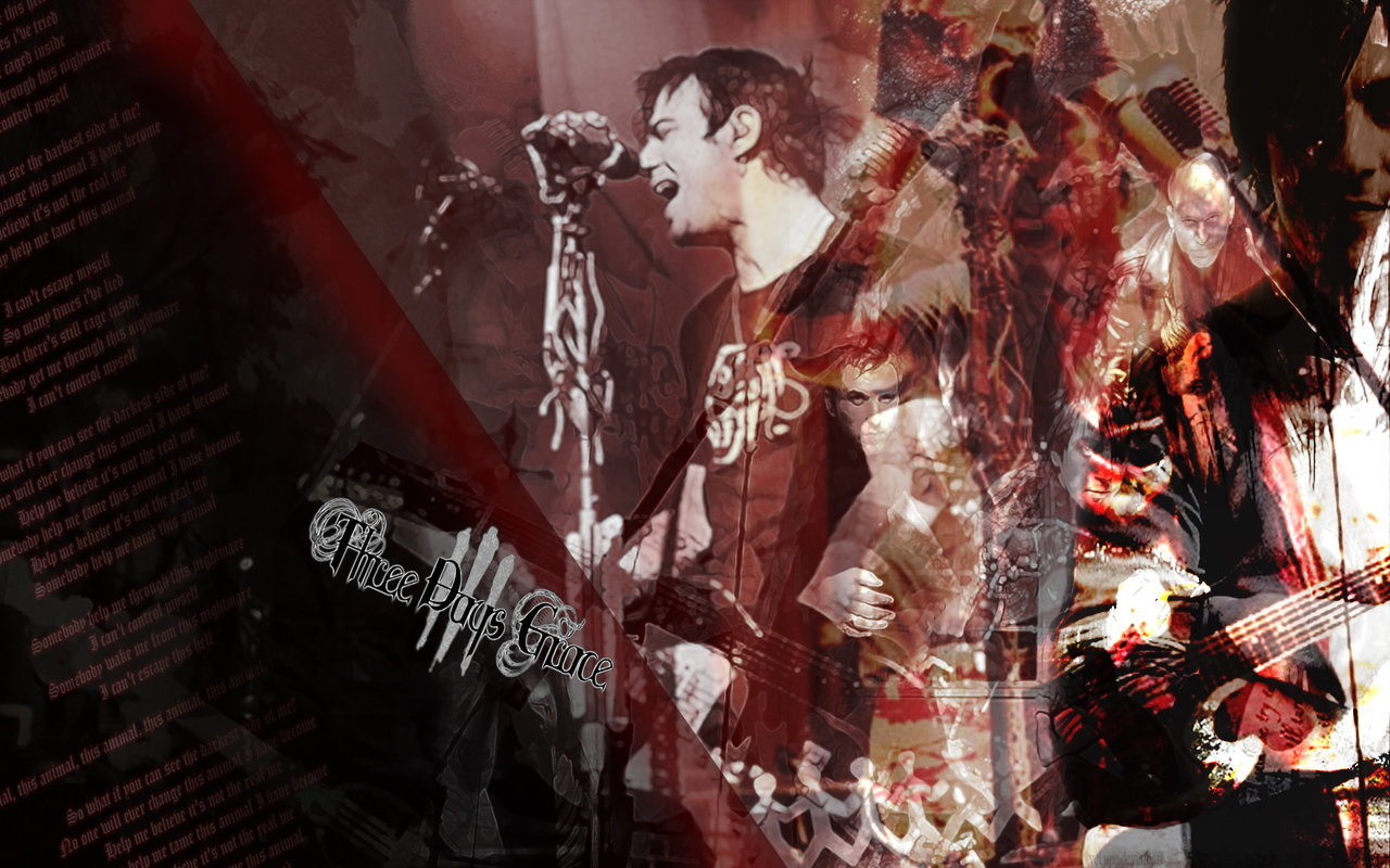 Three Days Grace Wallpaper by velaine 1280x800