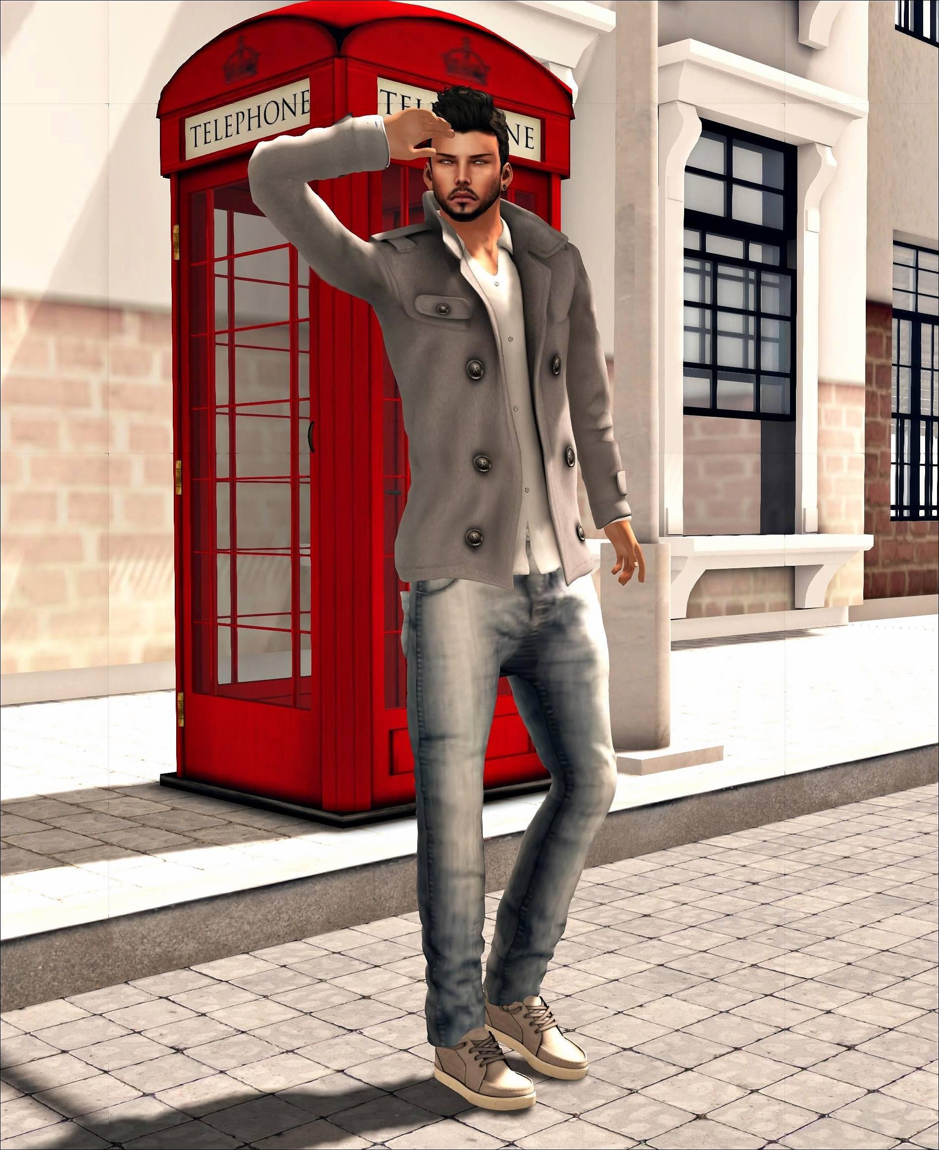 Second Life London Mens Fashion   Second Life Wallpaper 1897x2323
