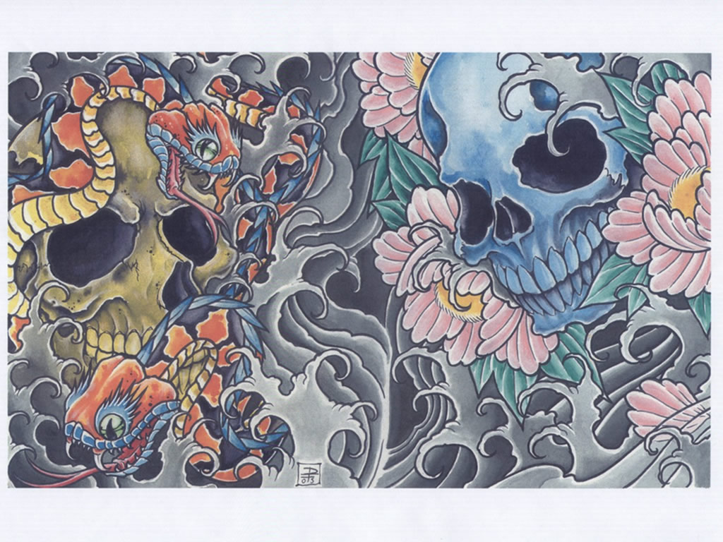 76 Japanese Tattoo Wallpaper On Wallpapersafari