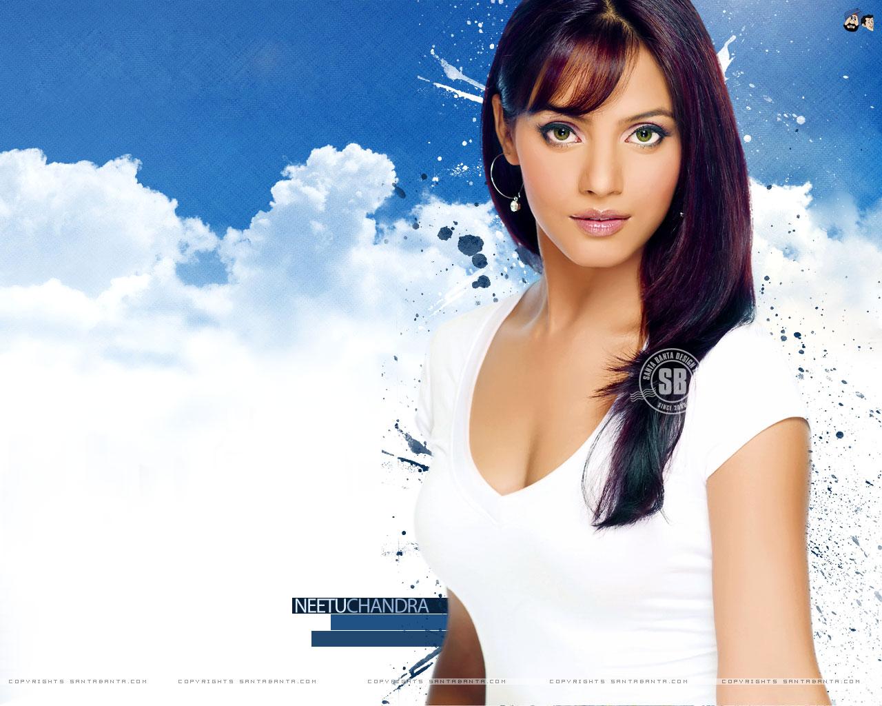 Neetu Chandra Latest Hot Desktop Wallpapers Santa Banta 1280x1024