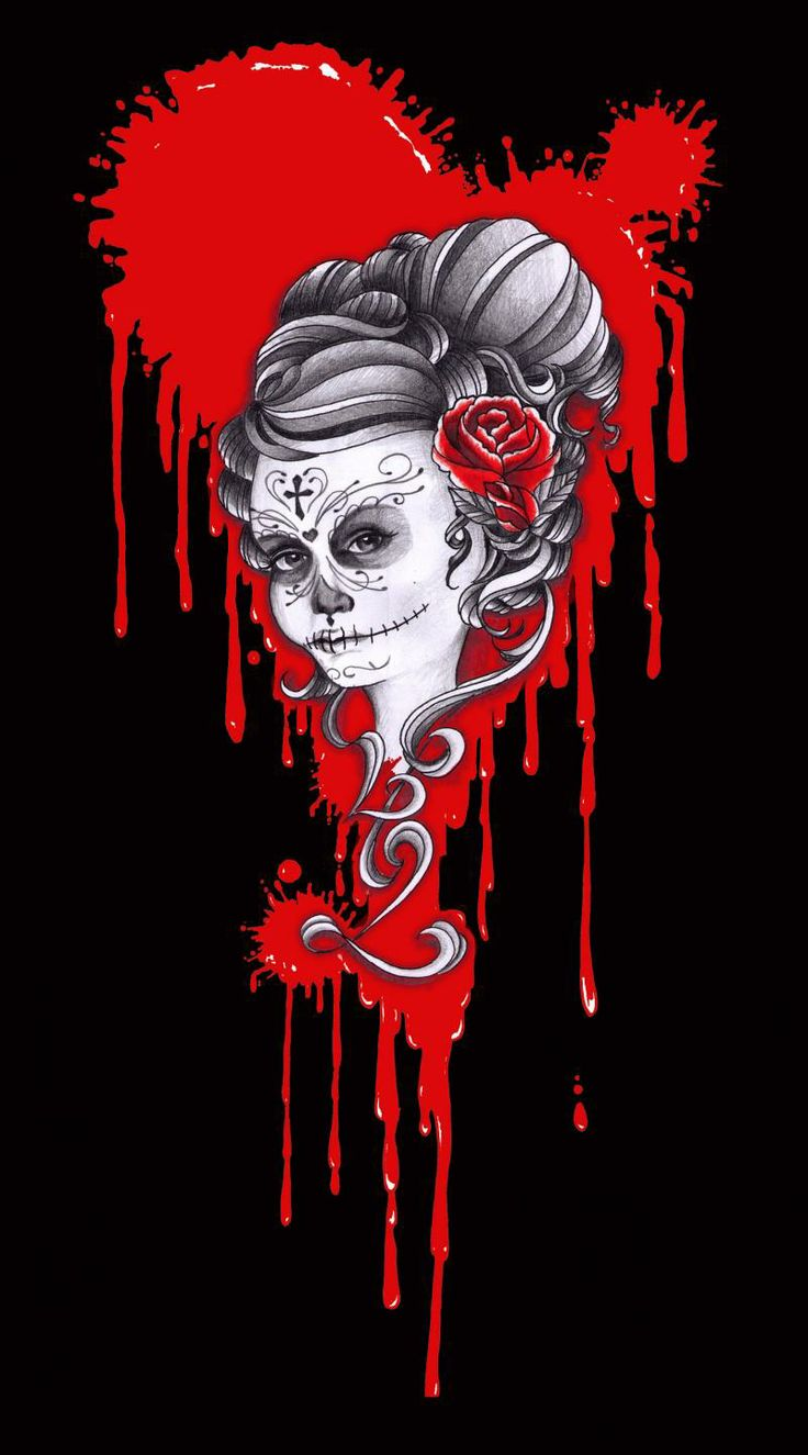 46 Sugar Skull Hd Wallpaper On Wallpapersafari