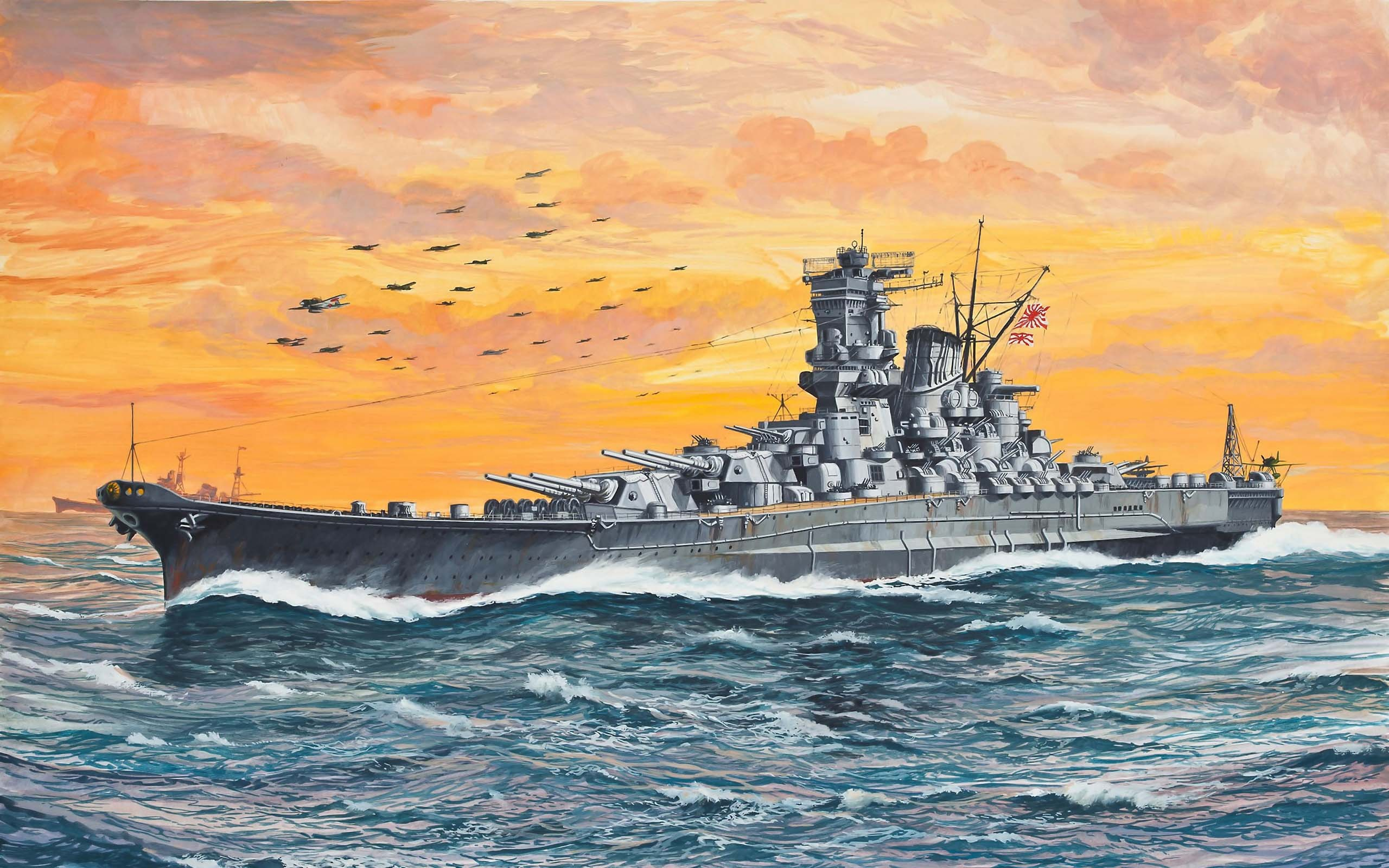Back Gallery For battleship bismarck wallpaper 2560x1600