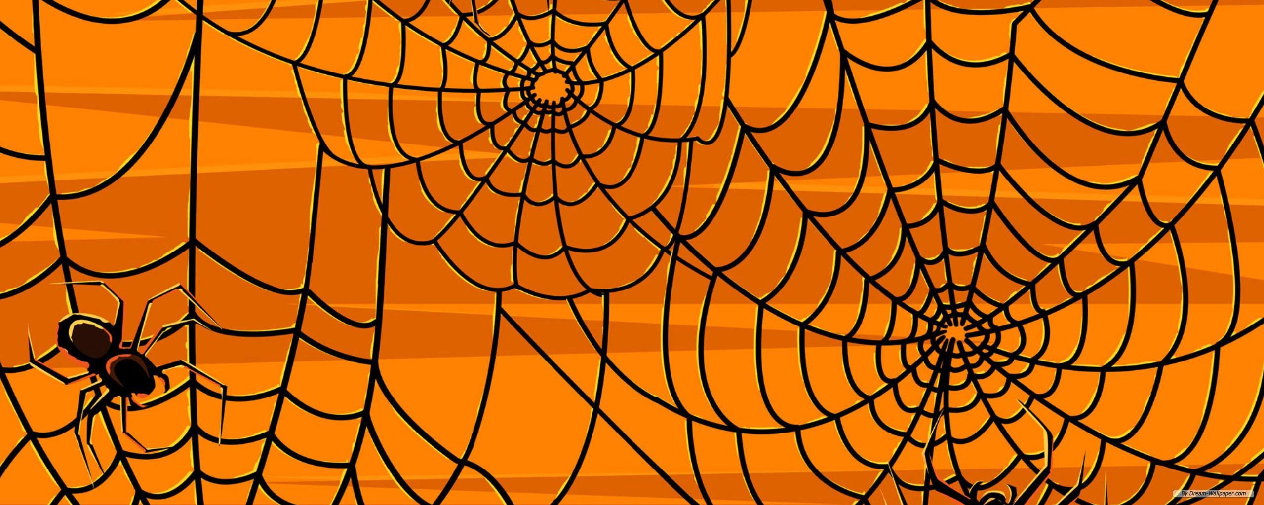 Holiday wallpaper   Halloween Episode 5 wallpaper   dual screen 2560x1024