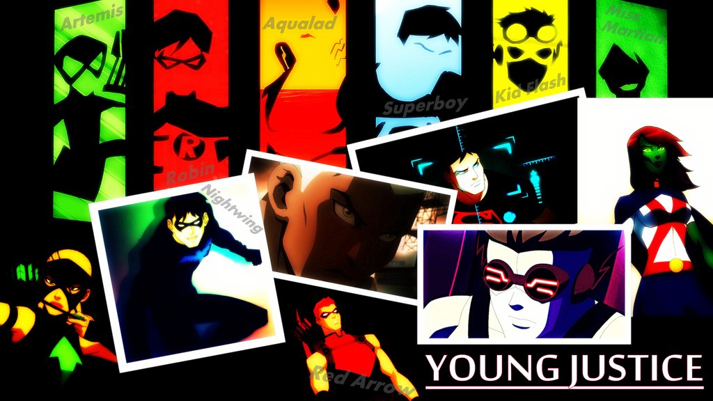 Young Justice Wallpaper by wonderouswoman 1024x576