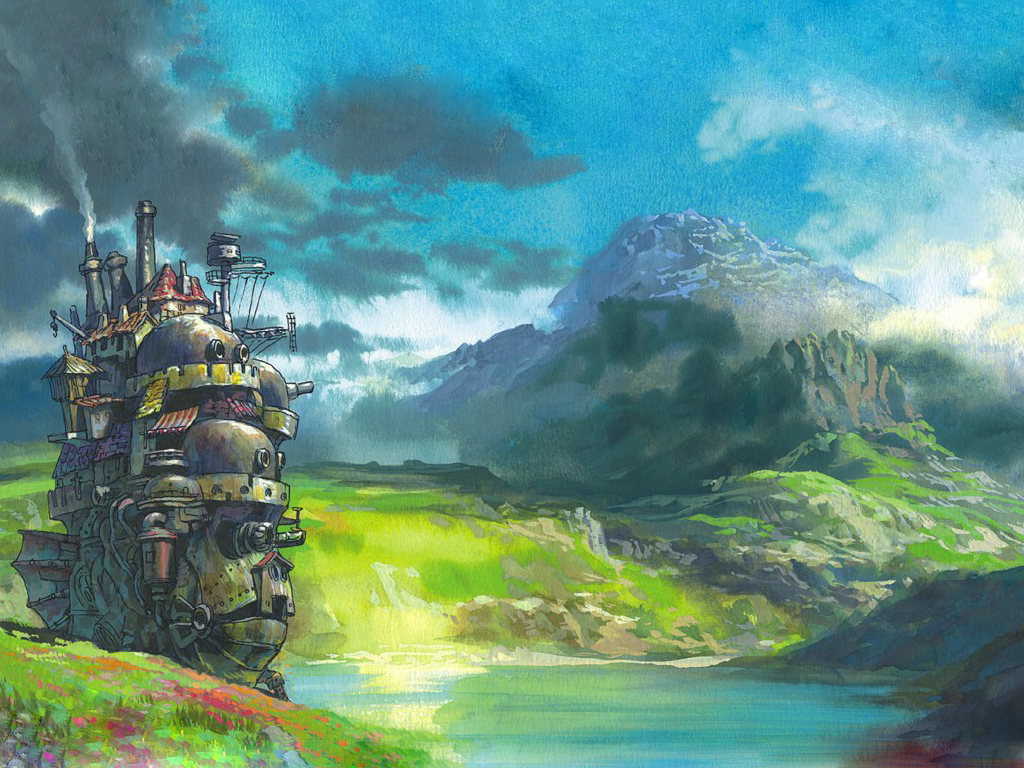 Download Studio Ghibli Wallpaper 1024x768 Wallpoper 349209 1024x768