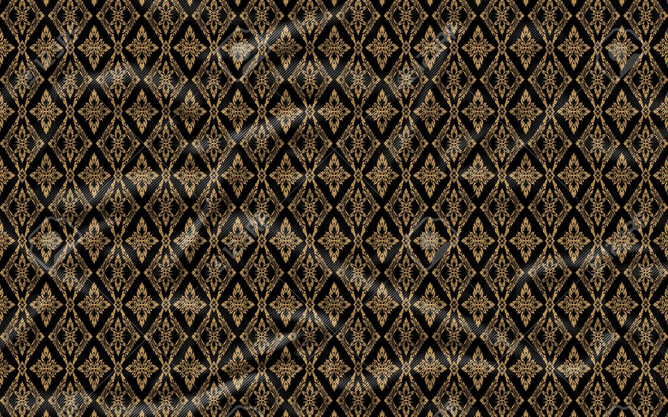 Abstract Background Pattern Made From Chintz Material Fragment 1300x812