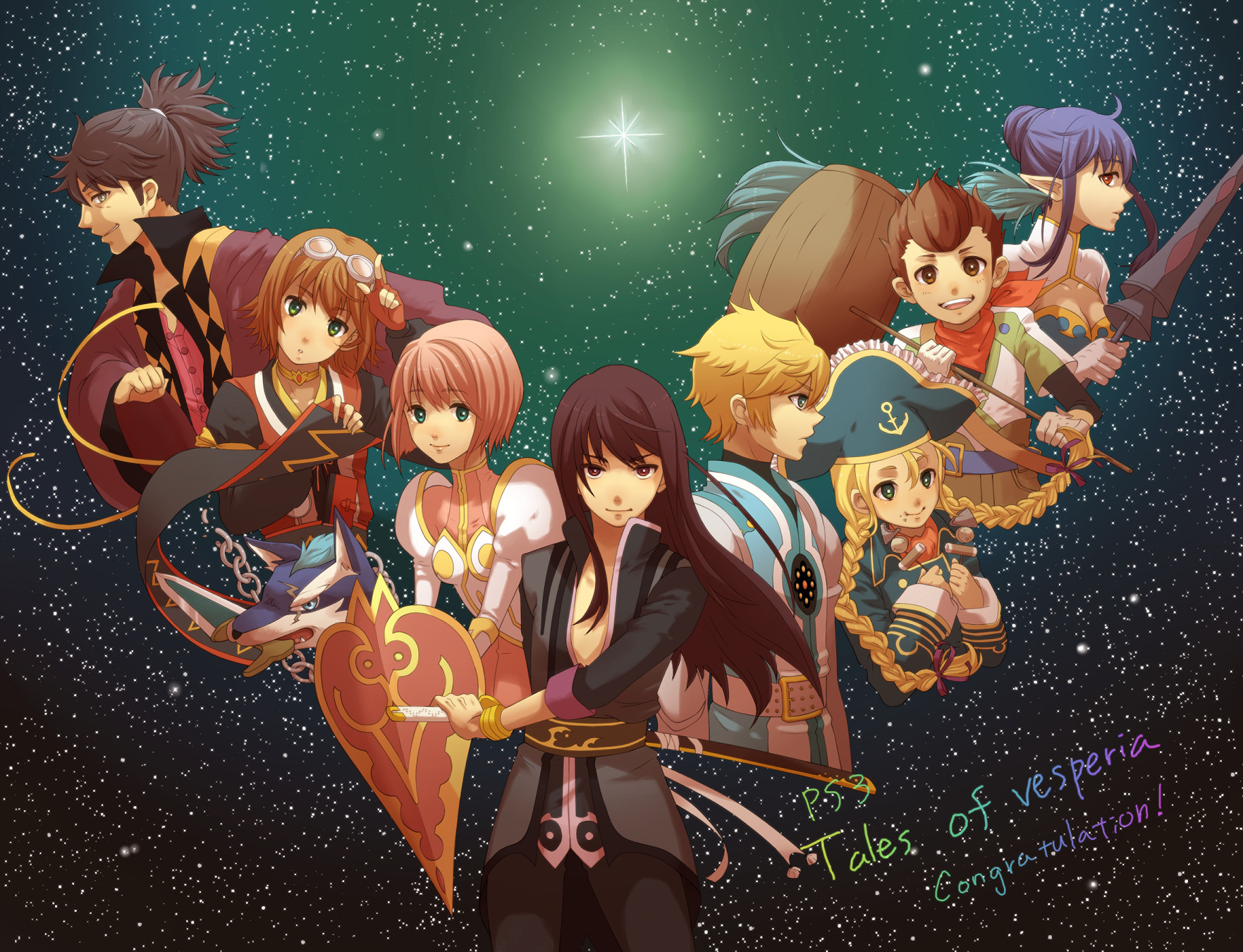 Anime Tales Of Vesperia Wallpaper 1763x1350 Anime Tales Of Vesperia 1763x1350